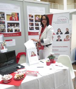 """2013-09-20 DONNA auf der Unternehmerinnen-Messe """"Die Boss"""""""