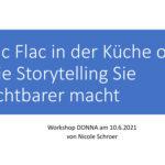 2021-06-10 Storytelling